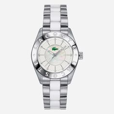 biarritz crystals stainless steel bracelet watch-LACOSTE
