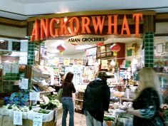They pack lots into a very small space with a wide range of Vegan items such as sauces, tofu, mock-meats, noodles, sauces, and fresh Asian greens. Freezer section has mock-meats as well as banana or taro in sticky rice wrapped in banana leaves. - Rowena