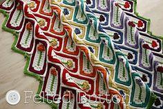 Ravelry: Mariposa Throw pattern by Susan Carlson