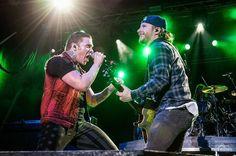 #Repost @awendowskiphoto: @Shinedown closing out @rocknderbyfest lastnight! #rocknderby #rocknderbyfest #Shinedown #zachmyers #brentsmith #secondchance #stateofmyhead    via Instagram http://ift.tt/1TuFGA5  Shinedown Zach Myers