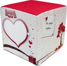Pouf - Linea Love - Tecsys Design, stampa a sublimazione personalizzata