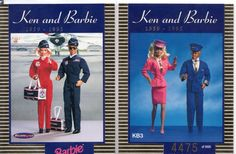 Trading Cards Barbie and Ken Chase Tempo KB3 1 5000   eBay