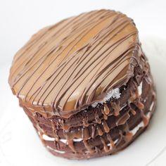 chocolade-rum taart