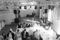 Matthias auf der Bühne :: Hochzeit René + Juliane Polack in Thüringen