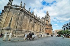 The place Christopher Columbus is buried #columbus #Spain #seville #cathedral #joetographer