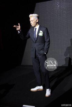 T.O.P of BigBang attending Dior Paris Fashion Show