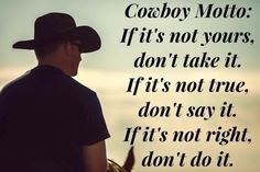 If it's stupid-as-fuck, leave it to a cowboy to say it as if it's wisdom. Rodeo Quotes, Cowboy Quotes, Horse Quotes, Equestrian Quotes, Great Quotes, Quotes To Live By, Me Quotes, Motivational Quotes, Inspirational Quotes