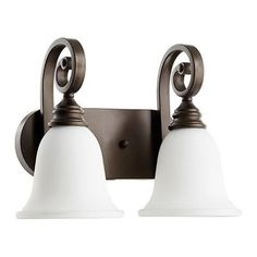 Quorum Bryant 2 Light Vanity Light Finish: