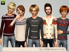 ILikeMusic640's Quirky Sweaters AM