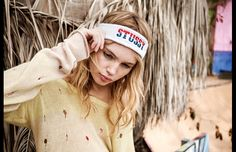 "Stussy women Spring/Summer 2013 ""She Was Born In California"" with Valerie Phillips. #stussy #Valeriephillips"