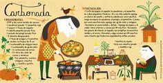 Cositas Ricas Ilustradas por Pati Aguilera Chilean Recipes, Chilean Food, Family Meal Planning, Comida Latina, Vintage Drawing, Publication Design, Salsa Verde, Sweet Life, Recipies