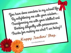 Teachers day cards 1000 teachers day quotes images pictures teachers day wishes for friends m4hsunfo