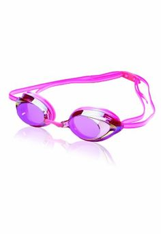Speedo Vanquisher 2.0 Mirrored Goggle, Pink/Clear Speedo | $13