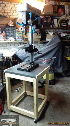 Drillpress portable stand