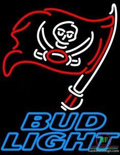Bud Light Tampa Bay Buccaneers Neon Sign NFL Teams Neon Light
