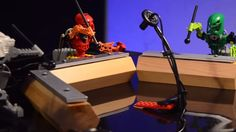 Giuseppe Acitoé um designer de som que por gostar muito de Lego teve a brilhante ideia de montar uma banda formada com