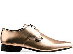 Underground shoes: Underground Paul in Rose Gold Mirror