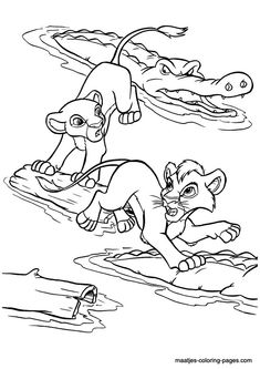 2 run Lion Coloring Pages, Disney Coloring Pages, Coloring Sheets, Coloring Books, Lion King 2, Disney Lion King, Disney Pictures, Disney Pics, Lion King Animals
