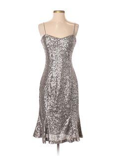 Banana Republic L'wren Scott Cocktail Dress: Size 2.00 Silver Women's Dresses - New With Tags - $42.99