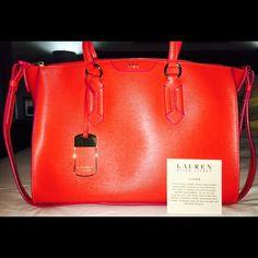 Ralph Lauren satchel Turn heads with this classic timeless handbag.   Ralph Lauren Bags Satchels