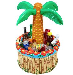 Widmann 04865 – Inflatable Palm Tree Beverage Cooler for sale online Cuba, Inflatable Palm Tree, Coolers For Sale, Hawaiian Birthday, Palmiers, Party Buffet, Drinking Games, Deco Table, For Your Party