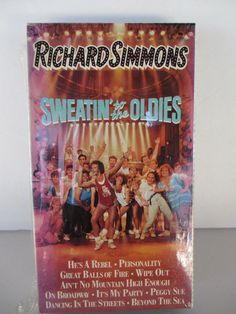 Richard Simmons - Sweatin' to the Oldies (NEW SEALED VHS, 1990) | DVDs & Movies, VHS Tapes | eBay!