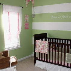 Green Striped Wall Design, Pictures, Remodel, Decor and Ideas
