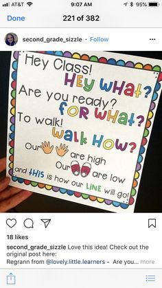 Pin By Robyn Renick On Beg Of Year Kindergarten Classroom Classroom Chants, Classroom Procedures, First Grade Classroom, Future Classroom, Classroom Organization, Classroom Ideas, Songs For The Classroom, Preschool Procedures, Preschool Classroom Jobs