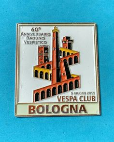 Badge Placca Plakette Vespa