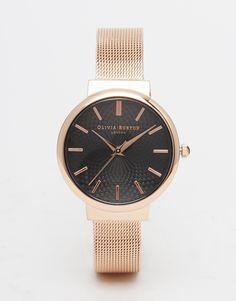 Olivia Burton Hackney Rose Gold Watch