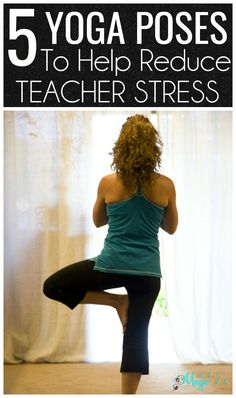 An interesting article on how yoga can be a powerful tool to help reduce teacher stress and burnout. You will learn about 5 powerful yoga poses that will help you relax. Reduce Stress, How To Relieve Stress, New Teachers, Teachers Toolbox, Teacher Resources, Teaching Ideas, Stress Yoga, Corpse Pose, Home