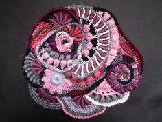 freeform crochet scrumble.  It's full o' bullions!