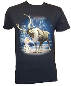 Disney Frozen Olaf Sven Forest T-shirt