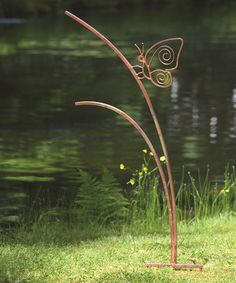 Another great find on #zulily! Flamed Butterfly Garden Stake by Ancient Graffiti #zulilyfinds