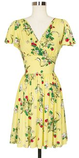 Trashy Diva Camilla Dress in Berry Chantilly