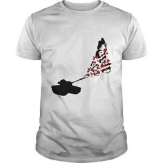 This is an awesome to wear for your family and friend who love animal:  Tank shooting Butterflies and Hearts Tee Shirts T-Shirts