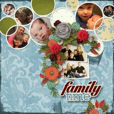 Kit: 360-11 Togetherness by Aimee Harrison Design Studios  Template: Circles of Love #5 by Heartstrings Scrap Art
