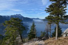 Herbststimmung über dem Attersee Mountains, Nature, Photography, Travel, Water, Voyage, Viajes, Traveling, Photograph