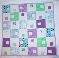 modern block  #quilt, #quilts, #quilting