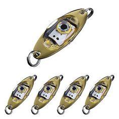 SALE! Dr.Fish Saltwater Fish Bait LED Light Halibut Redfish Musky Bass Fishin...