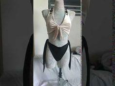 PDF Woman panties pattern, bikini bottom pattern, DIY easy begginers pat... Handmade Skirts, Handmade Clothes, Gothic Fashion, Boho Fashion, Fashion Design, Bikini Pattern, Pdf Patterns, Swimsuits, Bikinis