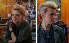 Kate McKinnon's hair in Ghostbusters                                                                                                                                                     More