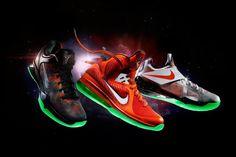 detailed look 21adf da837 Nike NBA 2012 All-Star Game Footwear Releases