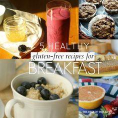 5 Healthy gluten-free Breakfast Ideas www.bestofthislife.com