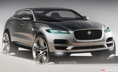 2015 Frankfurt Motor Show: Jaguar F-PACE SUV Revealed