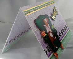 card with hand made envelope, inside message is Blank How To Make An Envelope, Stampin Up, Messages, Collections, Cards, Handmade, Ideas, Hand Made, Craft
