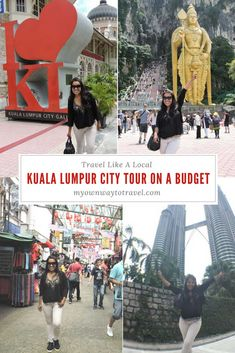 Kuala Lumpur City Tour in Two Days - There are many free things to do and see in Kuala Lumpur. To explore Kuala Lumpur on a budget in Malaysia. Kuala Lumpur City Tour, Kuala Lumpur Travel, Top Travel Destinations, Budget Travel, Asia Travel, Solo Travel, Malaysia Travel Guide, Travel Guides, Travel Tips
