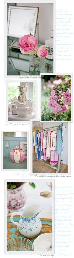 love all of the color here, especially the last photo, which will serve as inspiration for a tea party with @Haley Wech :)