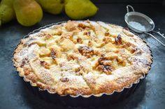 Herbstliches Birnen Tarte Rezept mit Walnüssen Home Bakery, Winter Desserts, Cake & Co, Gourmet Desserts, Bakery Cakes, Sweet Cakes, Cakes And More, Cake Cookies, Cake Recipes