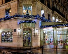 Laduree in its holiday finery